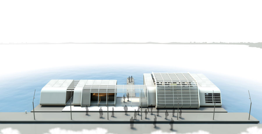 image from progetto FERRY TERMINAL