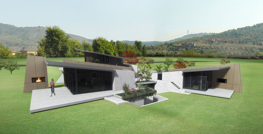 image from progetto PRIVATE HOUSE LATINA